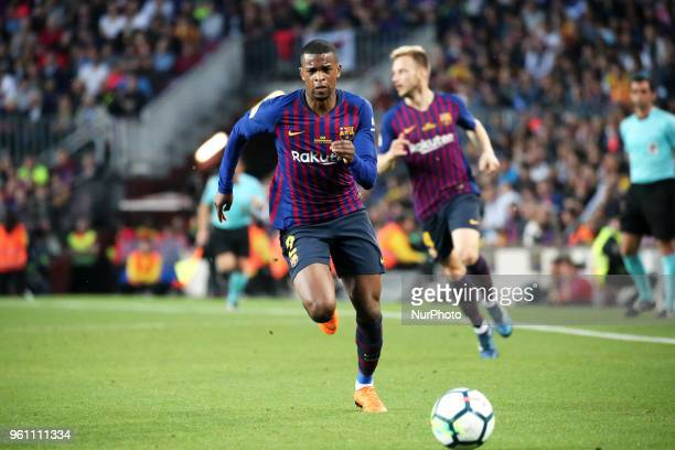 Nelson Semedo during the match between FC Barcelona and Real Sociedad played at the Camp Nou Stadium on 20th May 2018 in Barcelona Spain