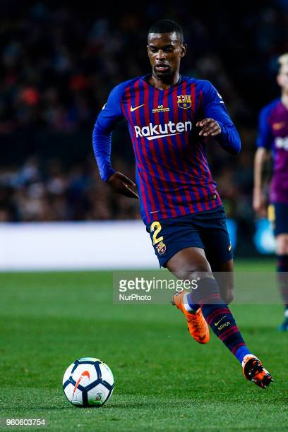 02 Nelson Semedo from Portugal of FC Barcelona during the La Liga football match between FC Barcelona v Real Sociedad at Camp Nou Stadium in Spain on...