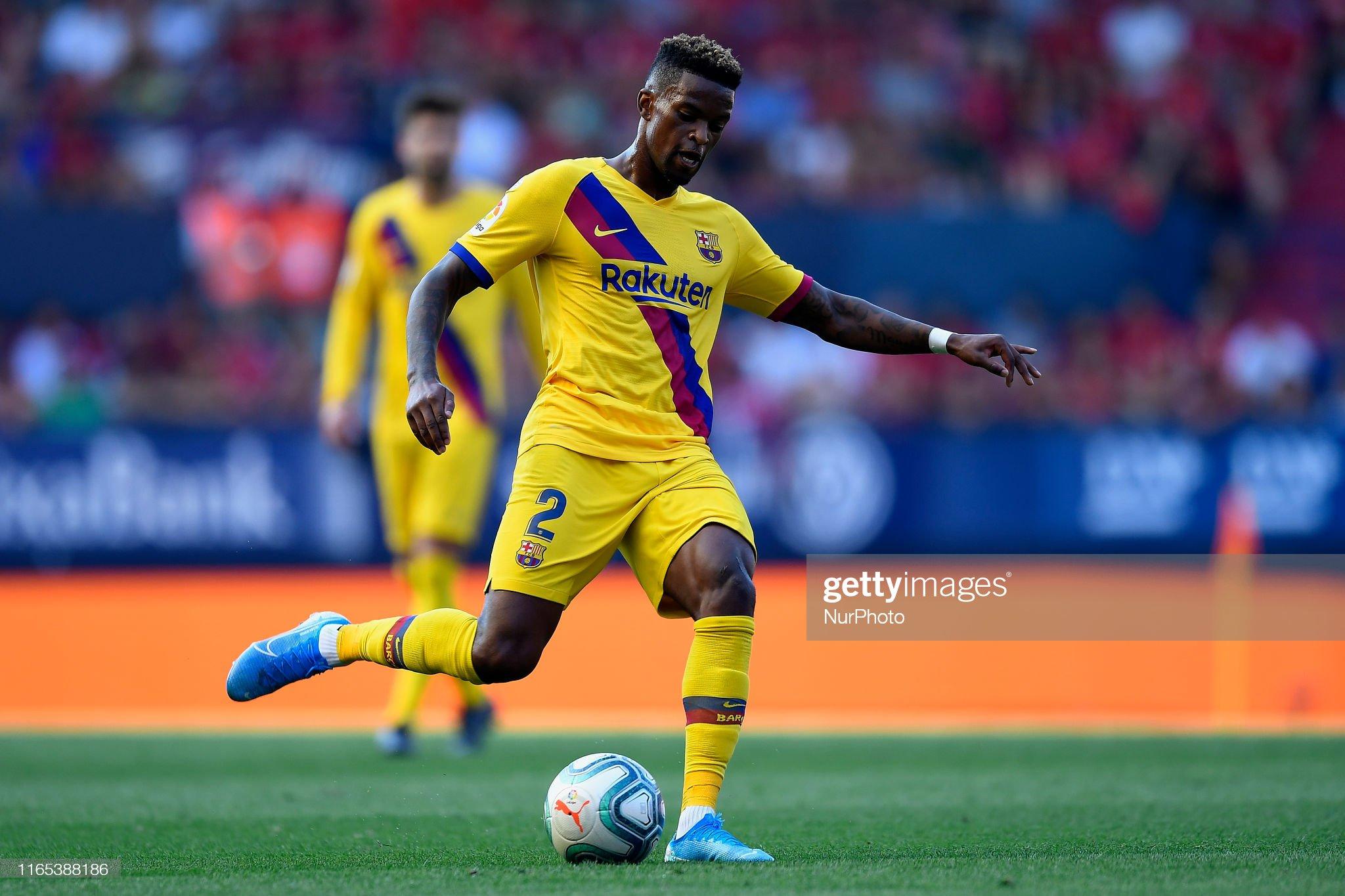 صور مباراة : أوساسونا - برشلونة 2-2 ( 31-08-2019 )  Nelson-semedo-of-barcelona-does-passed-during-the-liga-match-between-picture-id1165388186?s=2048x2048