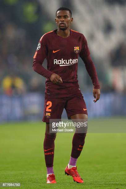 Nelson Semedo of Barcelona during the UEFA Champions League group D match between Juventus and FC Barcelona at Juventus Stadium on November 22 2017...