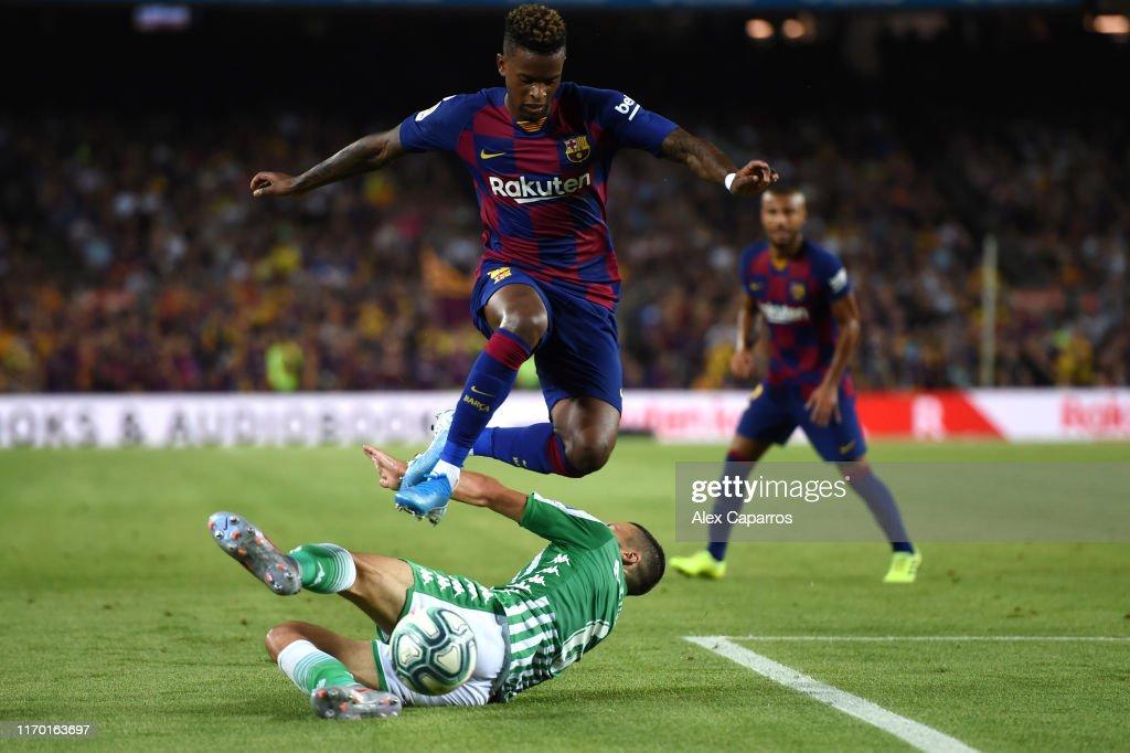 FC Barcelona v Real Betis - La Liga : Fotografía de noticias