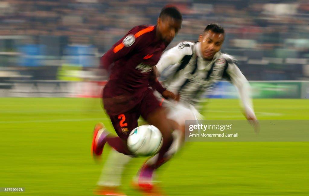 Juventus v FC Barcelona - UEFA Champions League : ニュース写真