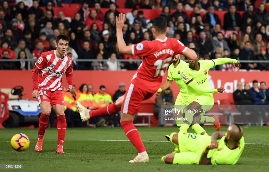 Girona FC v FC Barcelona - La Liga : Nachrichtenfoto