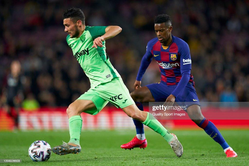 FC Barcelona v Leganes - Copa del Rey: Round of 16 : News Photo