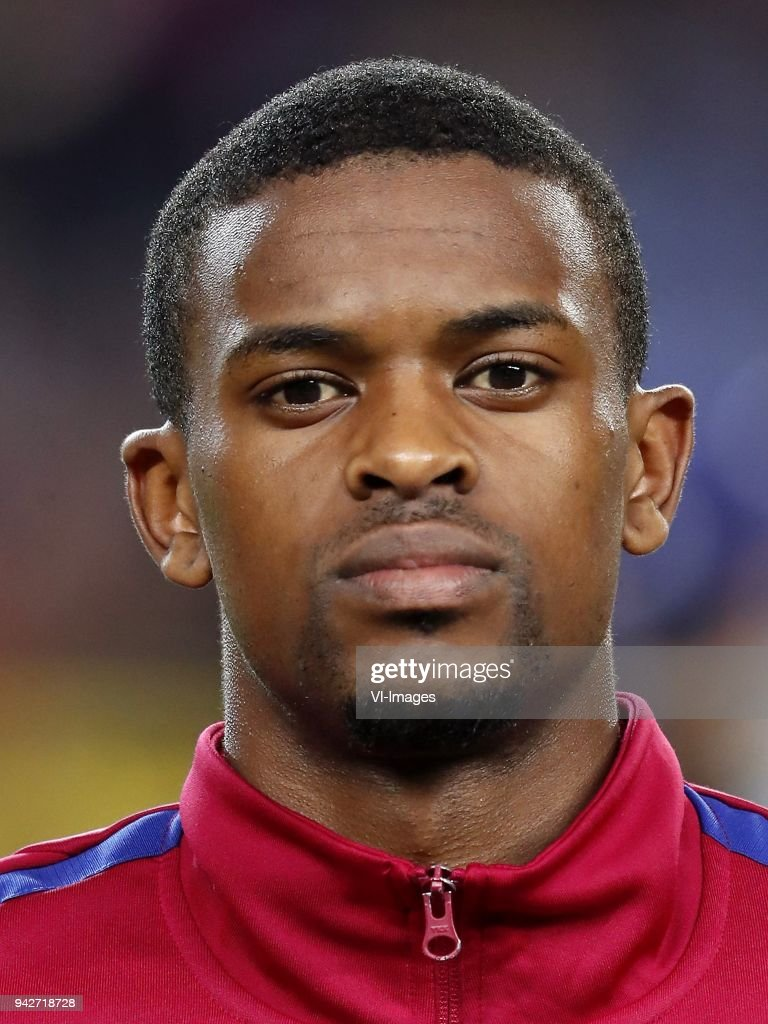 Nelson Semedo of FC Barcelona during the UEFA Champions League quarter final match between FC Barcelona and AS Roma at the Camp Nou stadium on April 04, 2018 in Barcelona, Spain.