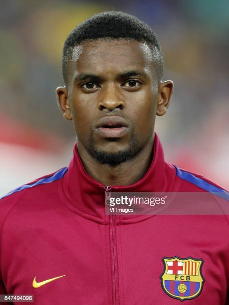 Nelson Semedo of FC Barcelona during the UEFA Champions League group D match between FC Barcelona and Juventus FC on September 12 2017 at the Camp...