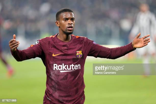 Nelson Semedo of Fc Barcelona during the UEFA Champions League group D match between Juventus FC and Fc Barcelona The match ended in a 00 tie