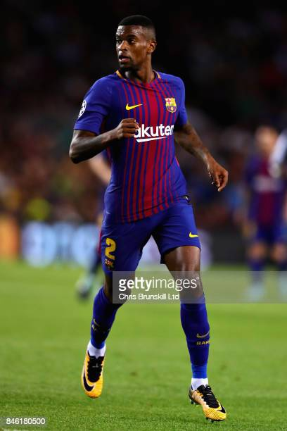 Nelson Semedo of FC Barcelona in action during the UEFA Champions League group D match between FC Barcelona and Juventus at Camp Nou on September 12...