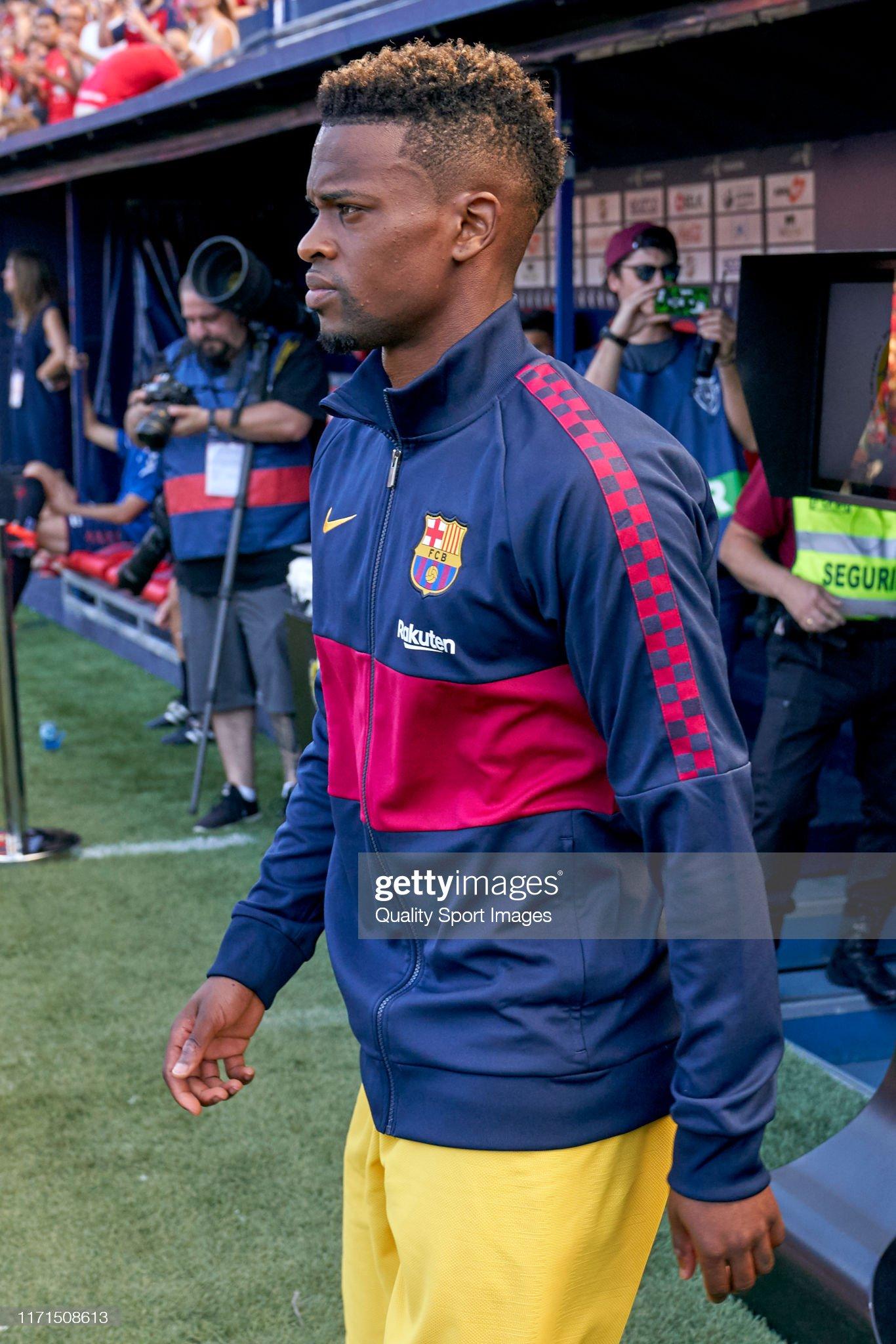 صور مباراة : أوساسونا - برشلونة 2-2 ( 31-08-2019 )  Nelson-semedo-of-fc-barcelona-looks-on-prior-to-the-liga-match-ca-picture-id1171508613?s=2048x2048