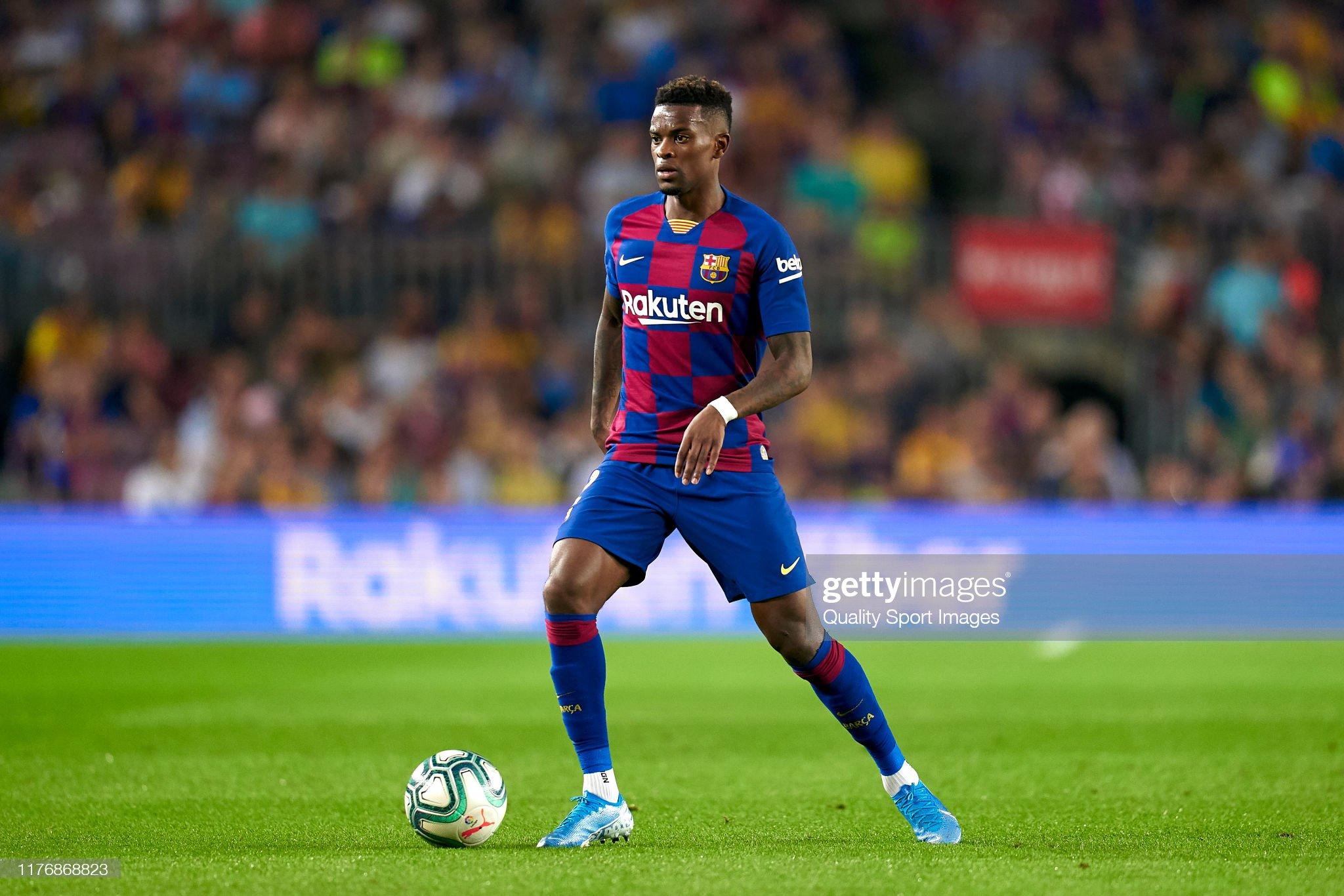 صور مباراة : برشلونة - فياريال 2-1 ( 24-09-2019 )  Nelson-semedo-of-fc-barcelona-with-the-ball-during-the-liga-match-fc-picture-id1176868823?s=2048x2048