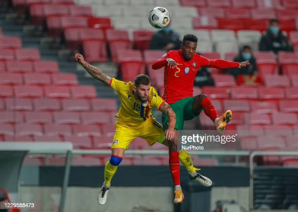 Nelson Semedo of Portugal and Olympiacos in action during the International Friendly match between Portugal v Andorra at the Luz stadium on November...