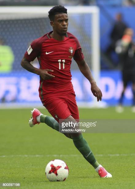 Nelson Semedo of Portugal in action during the Confederations Cup 2017 match between New Zealand and Portugal at Krestovsky Stadium in St Petersburg...