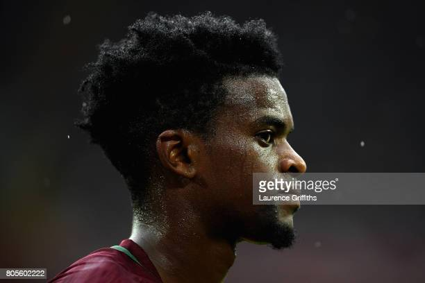 Nelson Semedo of Portugal looks on during the FIFA Confederations Cup Russia 2017 PlayOff for Third Place between Portugal and Mexico at Spartak...