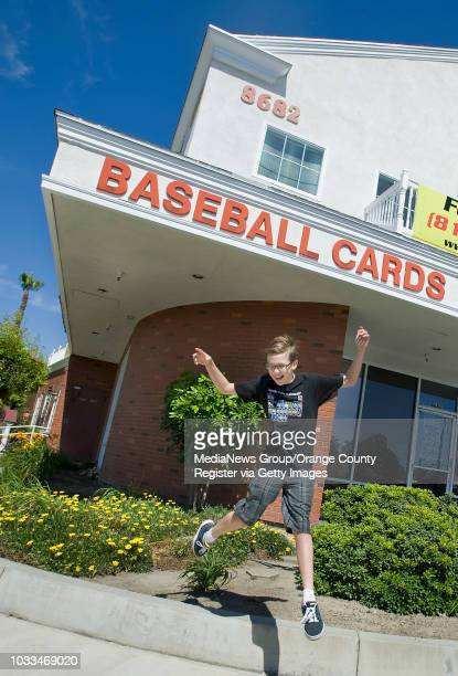 T Nelson starting collecting cards on his birthday and now makes it a habit to stop by Taylor's Baseball Cards and Collectables in Buena Park each...