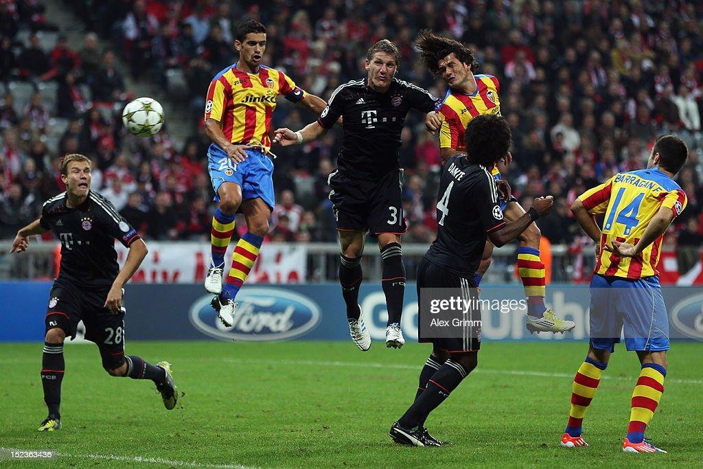 FC Bayern Muenchen v Valencia CF - UEFA Champions League