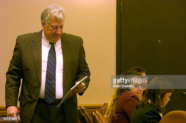 nelson27_bb_1 Defense attorney Kevin Strobel left and Shawna Nelson seated at right prepare for the day's testimony Wednesday morning at the Larimer...
