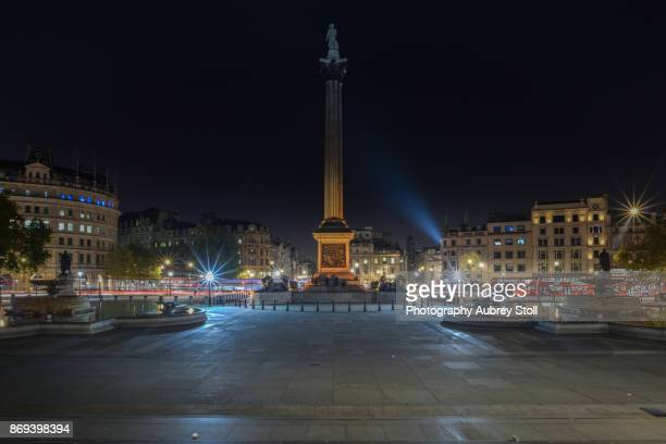 nelson's column - trafalgar square stock pictures, royalty-free photos & images
