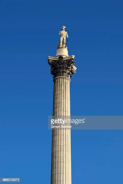 Nelson's Column, Trafalgar Square, London, England, United Kingdom