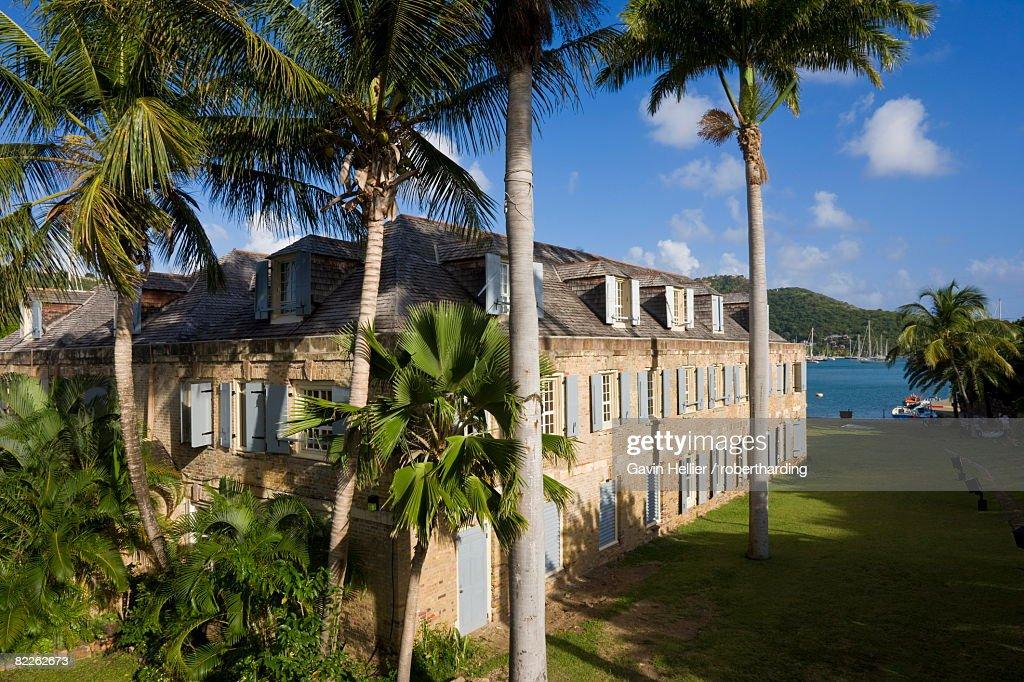 Nelson's Dockyard in English Harbour, Antigua, Leeward Islands, West Indies, Caribbean, Central America : Stock Photo