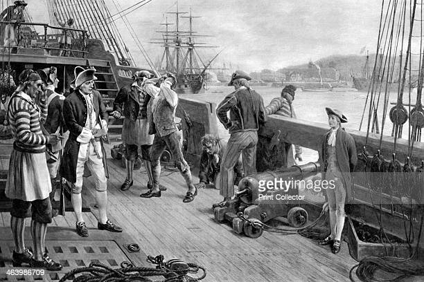 'Nelson's First Footing in the Navy Chatham' 1771 Horatio Nelson's began in 1771 when he joined HMS 'Raisonnable' a 64gun third rate as midshipman...