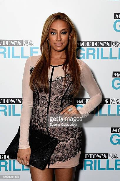 Nema Kamar attends the Morton's Grille Grand Opening Celebration on December 2 2014 in New York City