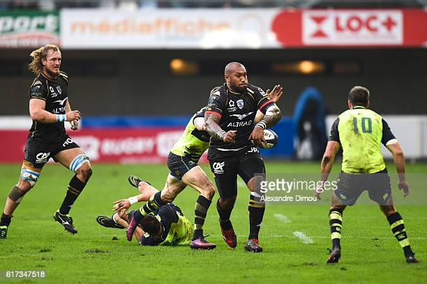 Nemani Nadolo of Montpellier during the European Champions Cup between Montpellier and Leinster at Altrad Stadium on October 23 2016 in Montpellier...