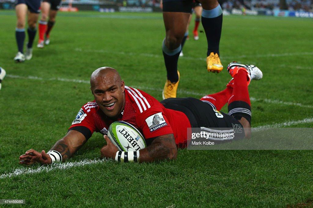 Super Rugby Rd 15 - Waratahs v Crusaders : News Photo
