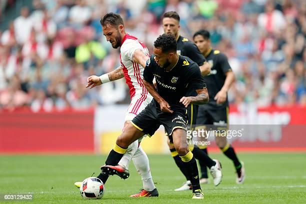 Nemanja Gudelj of Ajax Lewis Baker of Vitesse