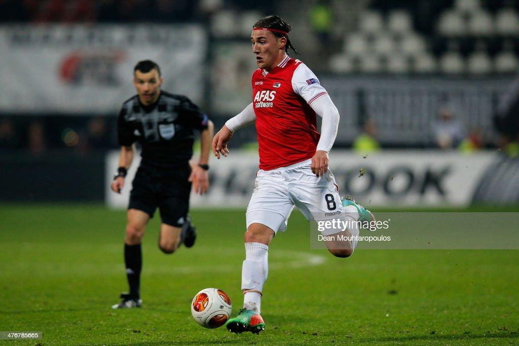 AZ Alkmaar v FC Slovan Liberec - UEFA Europa League Round of 32