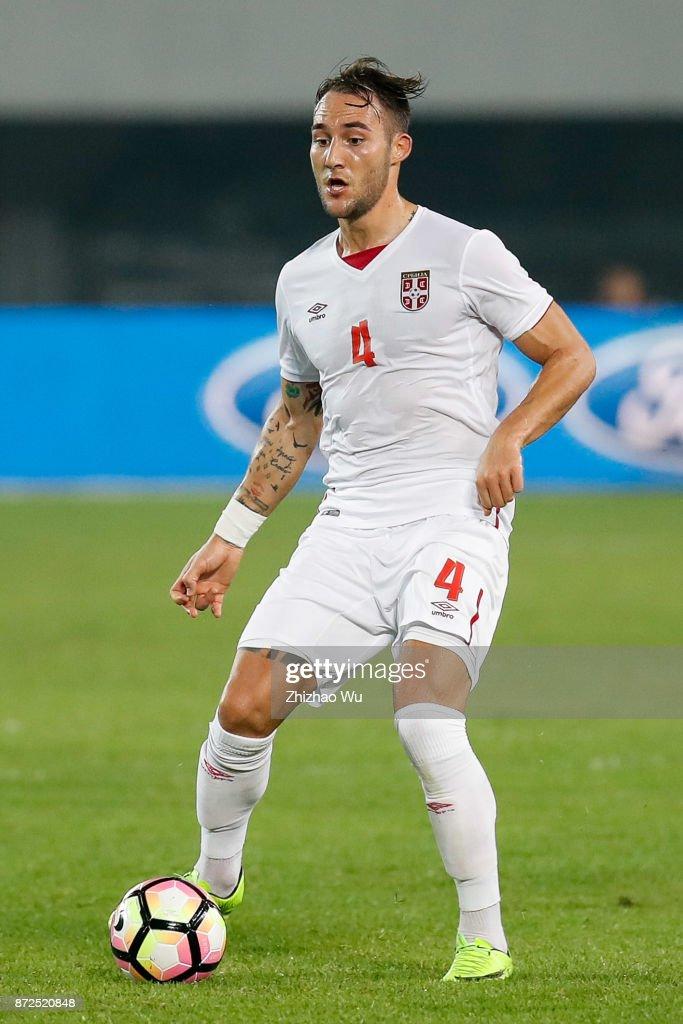 China v Serbia - International Friendly Football Match