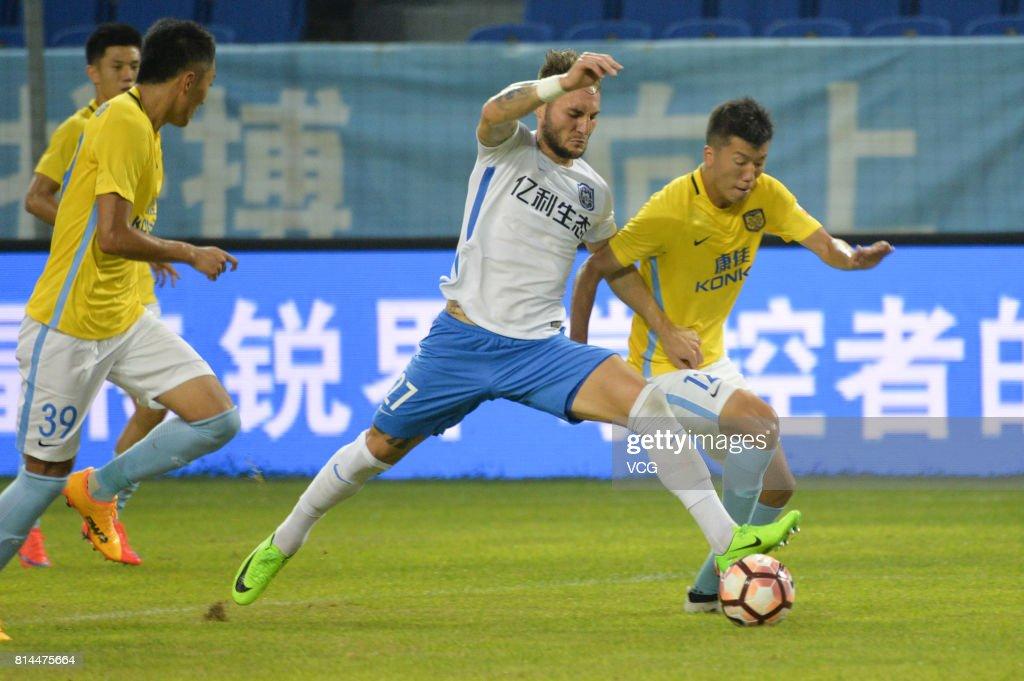 Tianjin Teda v Jiangsu Suning - Chinese Super League