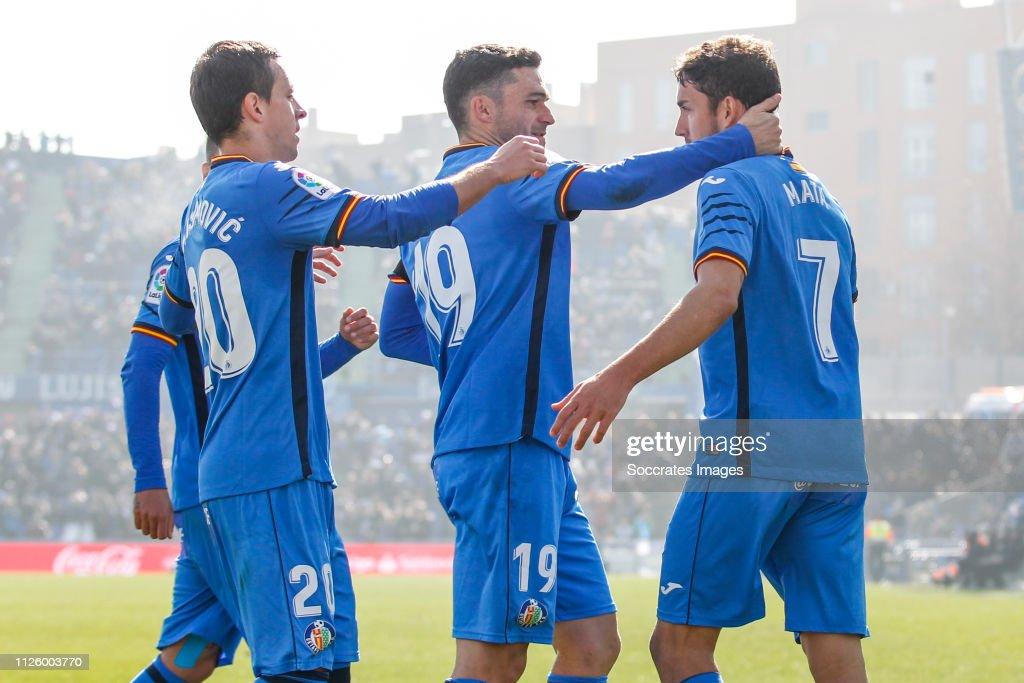 Getafe v Celta de Vigo - La Liga Santander : News Photo