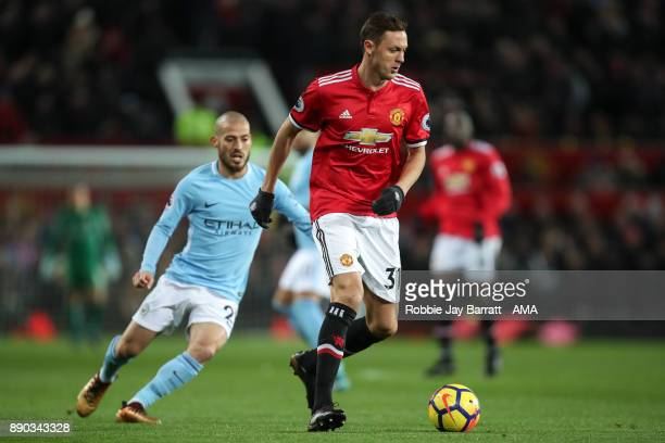 Nemanja Matic of Manchester United during the Premier League match between Manchester United and Manchester City at Old Trafford on December 10 2017...