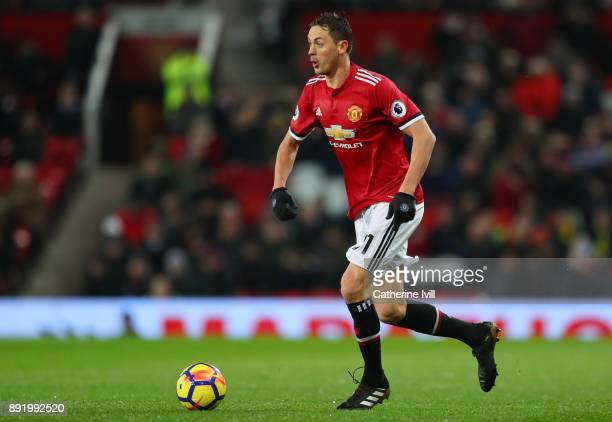 Nemanja Matic of Manchester United during the Premier League match between Manchester United and AFC Bournemouth at Old Trafford on December 13 2017...