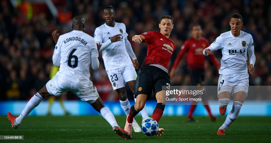 Manchester United v Valencia - UEFA Champions League Group H : News Photo