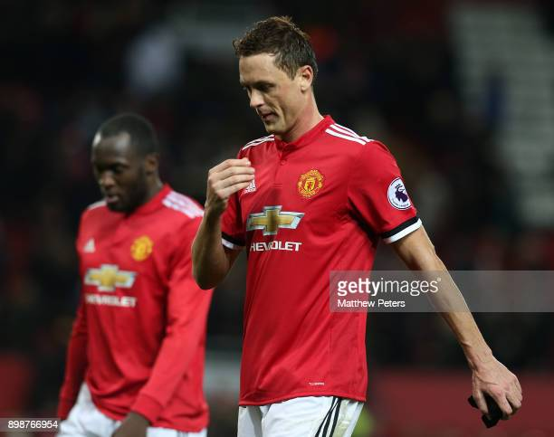 Nemanja Matic of Manchester United walks off after the Premier League match between Manchester United and Burnley at Old Trafford on December 26 2017...