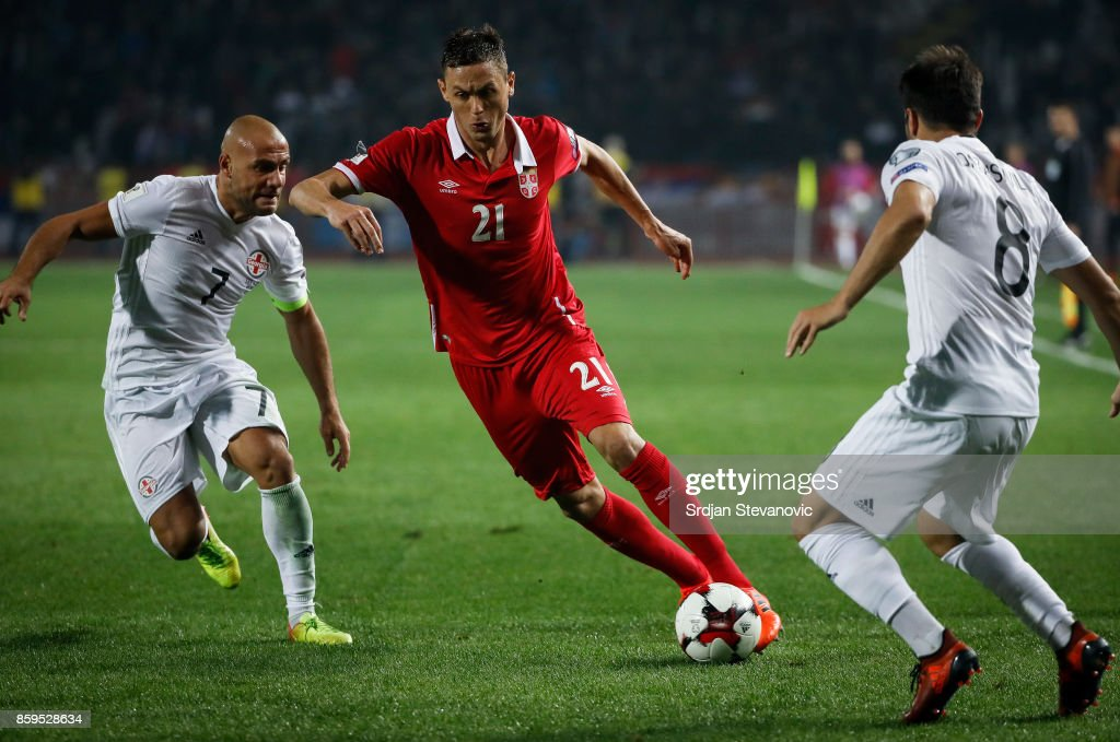 Serbia v Georgia - FIFA 2018 World Cup Qualifier : News Photo
