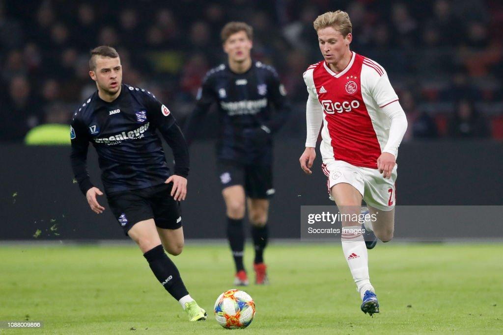 Ajax v SC Heerenveen - Dutch KNVB Beker : News Photo