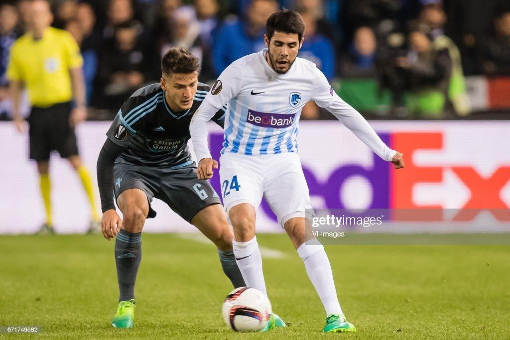 """UEFA Europa League""""KRC Genk v Celta de Vigo"""" : News Photo"""