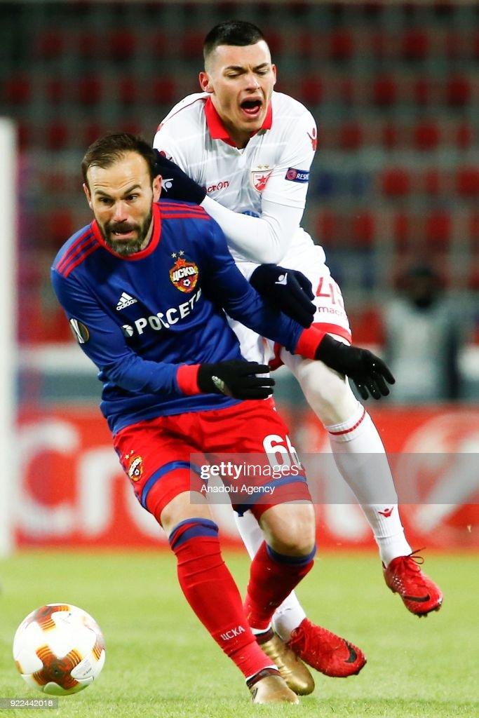 CSKA Moscow vs Crvena Zvezda :  UEFA Europa League  : Nachrichtenfoto