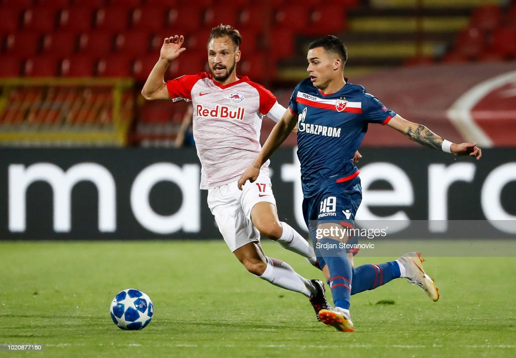 Red Star Belgrade v FC Red Bull Salzburg - UEFA Champions League