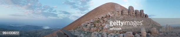nemrud dagh. mount nemrut, adiyaman - turkey - anatolia stock pictures, royalty-free photos & images