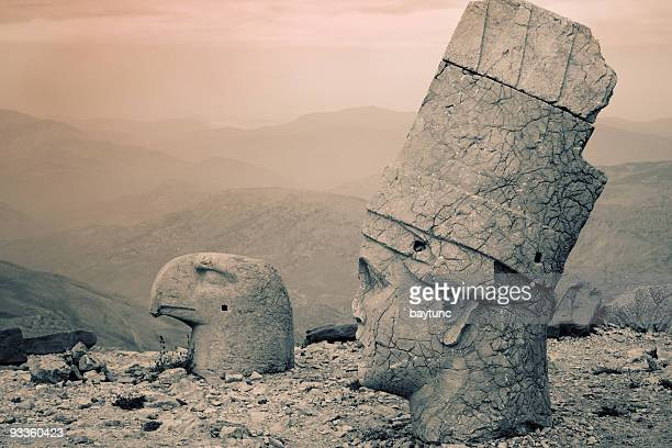 nemrud dagh - antiquities stock pictures, royalty-free photos & images