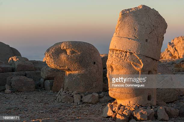 CONTENT] Nemrut Dag is a 2134 m high mountain notable for its summit where a number of large statues are erected around what is assumed to be a royal...