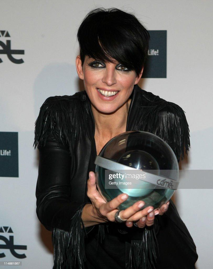 Nena attends the VIVA Comet 2011 Awards at Koenig-Pilsner Arena on May 27, 2011 in Oberhausen, Germany.