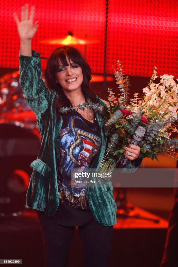 Nena performs at '2017! Menschen, Bilder, Emotionen' TV Show on December 3, 2017 in Huerth, Germany.