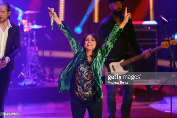 Nena performs at '2017 Menschen Bilder Emotionen' TV Show on December 3 2017 in Huerth Germany