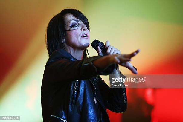 Nena performs on stage during the German Sports Media Ball at Alte Oper on November 8 2014 in Frankfurt am Main Germany