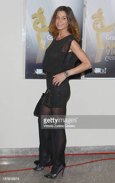 Nena Ristic attends the Gran Gala del calcio Aic 2011 awards ceremony at Teatro dal Verme on January 23 2012 in Milan Italy