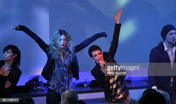 Nena Tochter Larissa Kerner Sohn Sakias Kerner BackgroundSängerin Verleihung Gala Deutscher Medienpreis 2011 für herausragende Symbole der...